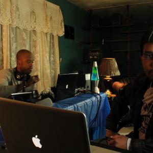 Andre Joseph as Jeff Willis and Reginald L Barnes as Eddie Mathis in Night Stream