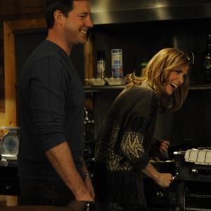 Still of Edward Burns and Kristen Wiig in Friends with Kids (2011)