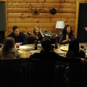 Still of Adam Scott, Edward Burns, Maya Rudolph, Jennifer Westfeldt and Chris O'Dowd in Friends with Kids (2011)