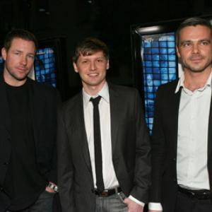 Edward Burns, Greg Marcks and Sergey Gubanov at event of Dovana (2009)