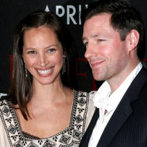 Edward Burns and Christy Turlington at event of Perfect Stranger 2007