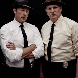 Still of Michael Rapaport and Edward Burns in Public Morals (2015)