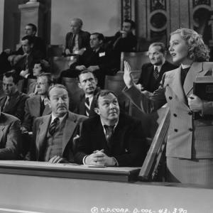 Jean Arthur Jack Carson and Thomas Mitchell in Mr Smith Goes to Washington 1939