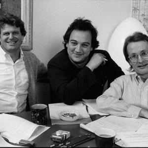 Rob Riley, Jim Belushi, John Davies of Eggboy Productions