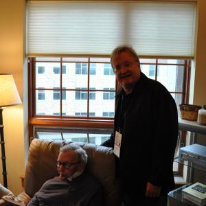 Roger Ebert and John Davies at EBERTFEST 2012