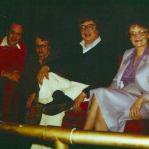 Davies and his Mother with Siskel & Ebert