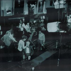 John Davies shooting the legendary John Houseman