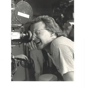 John Davies shooting SNEAK PREVIEWS open