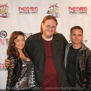 Tommie Vegas, co-star and filmmaker Shane Ryan with Pollygrind founder Chad Clinton Freeman