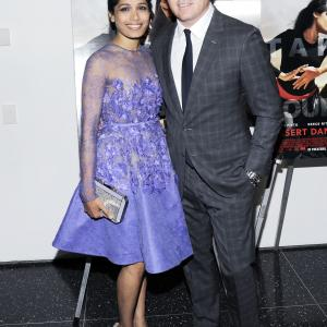Tucker Tooley, Freida Pinto