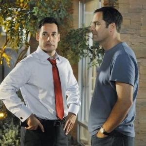 Adrian Pasdar, Andy Buckley
