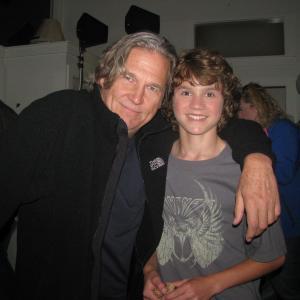 Owen with Jeff Bridges