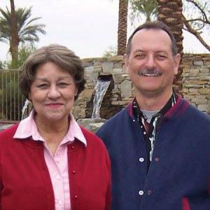 With mother Lita S. Bowman (also listed on IMDb) in Palm Desert, California.