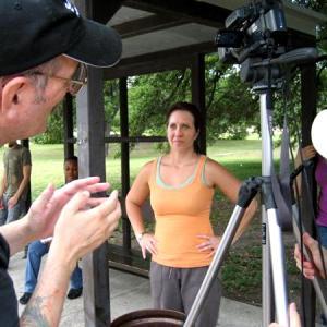 Directing Charlotte Case in San Antonio, Texas