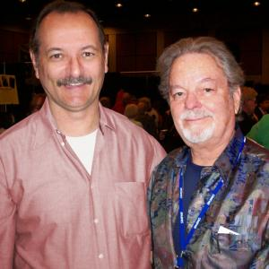 With Russ Tamblyn in Palm Springs, CA.