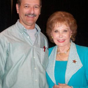 R. Christian Anderson with actress Rhonda Fleming.