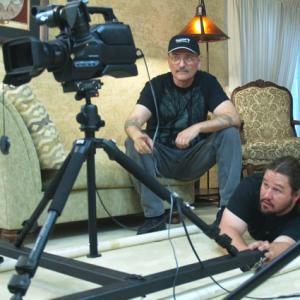 Director R. Christian Anderson (director) on the set of