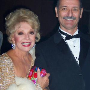 With actress Ruta Lee at the Palm Springs Film Festival.