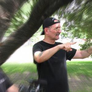 R. Christian Anderson directing in San Antonio, Texas for DB Media Entertainment.