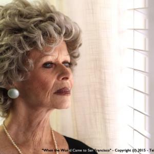 Actress Beverly Washburn in a scene from