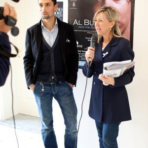 Giacomo Arrigoni at event for Al Buio  Into the Gloom
