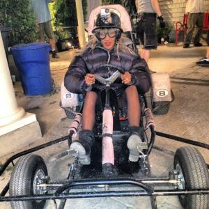 Go-karting on Grown Ups 2