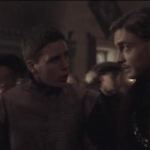 Patrick Murphy and Max Brown in The Tudors