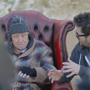 On set of winter for Stay