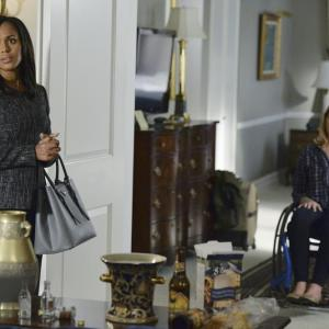 Still of Mary McCormack and Kerry Washington in Scandal 2012