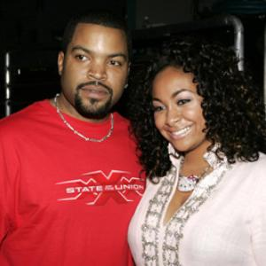 Ice Cube and RavenSymon at event of Nickelodeon Kids Choice Awards 05 2005