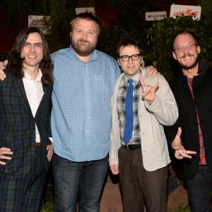 Rivers Cuomo, Scott Shriner, Robert Kirkman