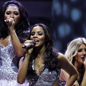 Frankie Bridge, Rochelle Humes, Mollie King, The Saturdays