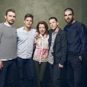 James Franco, Justin Kelly, Zachary Quinto, Lauren Selig, Charlie Carver