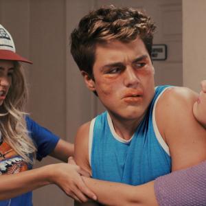 Audrey Whitby, Lia Marie Johnson, Charlie DePew