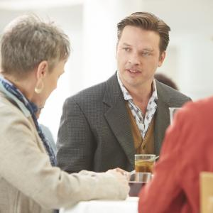 Still of Frances Fisher, Gina Stewart and Aden Young in Rectify (2013)
