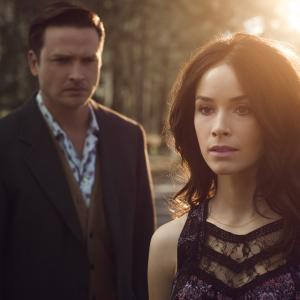Still of Abigail Spencer and Aden Young in Rectify (2013)