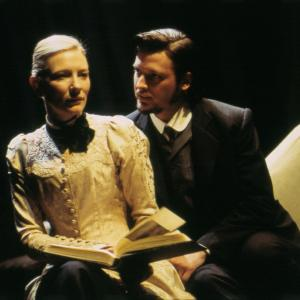 Aden Young with Cate Blanchett in the behind the scenes documentary In The Company Of Actors.