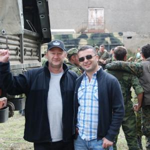 David Imedashvili  George Lascu Filming Movie Georgia