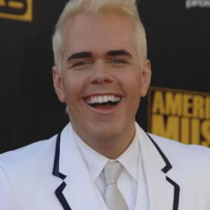 Perez Hilton at event of 2009 American Music Awards 2009