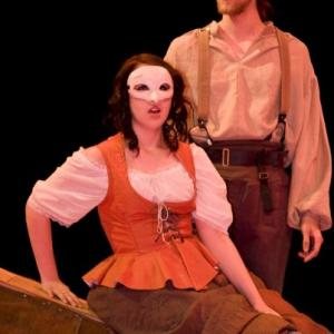 Corey Tomicic as Woyzeck in the Francophone Production of