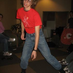 Corey Tomicic as Napoleon Dynamite in