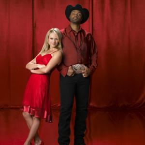 Still of Jewel Kilcher and Cowboy Troy in Nashville Star 2003