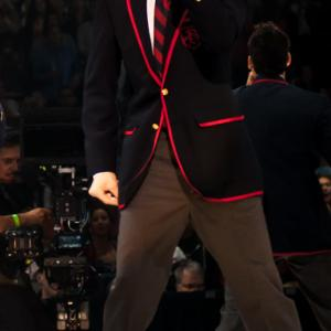 Riker in the Glee 3D Concert Movie.