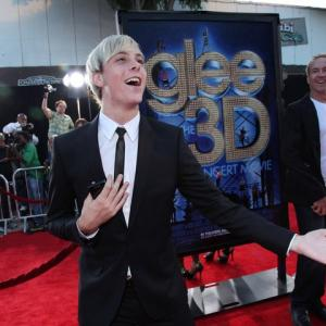 Riker on the red carpet for the Glee 3D Movie premiere.