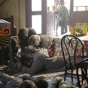 Still of Danai Gurira and Chandler Riggs in Vaiksciojantys negyveliai 2010