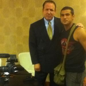 Willing And Able won the 2011 Action Film Fest On Set with Director Walter Garcia of ENSO
