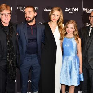 Robert Redford, Stanley Tucci, Shia LaBeouf, Brit Marling, Jackie Evancho