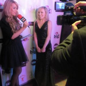 Petra Bryant on the red carpet in UK