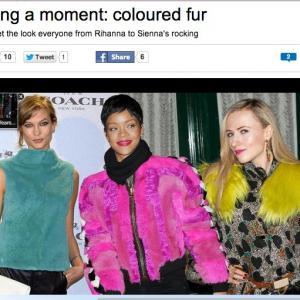 Petra Bryant MSN Fashion feature