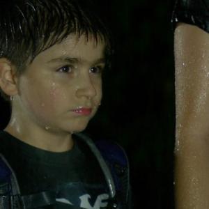THE PARK Stone Eisenmann as Jay Bird in the rain